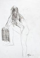 Desenhos.<br /> Estudos ©Milton Rocha