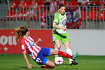 Atletico de Madrid's Carmen Menayo (l) and VfL Wolfsburg's Sara Bjork Gunnarsdottir during UEFA Womens Champions League 2017/2018, 1/16 Final, 1st match. October 4,2017. (ALTERPHOTOS/Acero)