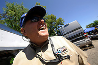 3-4 May 2008, Pickwick,TN USA.ChampBoat chaplin Laurie Vidal..©2008 F.Peirce Williams