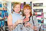 Mary Corkery and Maggie McElligott at the Friday Night Live with Amanda Brunker at CH Chemists on Friday.