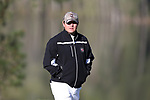KANNAPOLIS, NC - APRIL 09: South Carolina assistant coach Jake Amos. The third round of the Irish Creek Intercollegiate Men's Golf Tournament was held on April 9, 2017, at the The Club at Irish Creek in Kannapolis, NC.