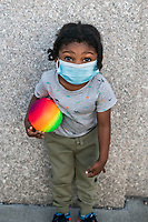 New York, New York City in the time of Coronavirus. Little Blake has been living sheltered in place and now out with his mother and aunt, is anxious to get to the park on this gorgeous spring day.