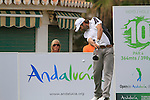 Raul Quiros (ESP) in action on then 10th tee during Day 2 Friday of the Open de Andalucia de Golf at Parador Golf Club Malaga 25th March 2011. (Photo Eoin Clarke/Golffile 2011)