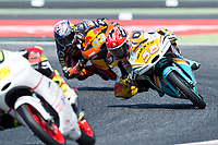 Juanfran Guevara of Spain and RBA BOe Racing Team during the race of  Moto3 of Catalunya at Circuit de Catalunya on June 11, 2017 in Montmelo, Spain.(ALTERPHOTOS/Rodrigo Jimenez) (NortePhoto.com) (NortePhoto.com)