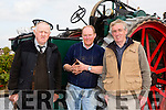 Enjoying the Threshing Festival and Vintage Rally at Blennerville Windmill on Sunday were  l-r  Michael Mckenna, Firies, Arthur Flynn, Tralee and Denis Tagney, Listry