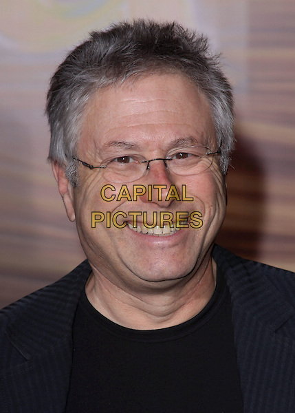"ALAN MENKEN .""Tangled"" Los Angeles Premiere held at the El Capitan Theatre, Hollywood, California, USA, 14th November 2010..portrait headshot smiling glasses black  .CAP/ADM/CH.©Charles Harris/AdMedia/Capital Pictures"