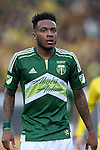 06 December 2015: Portland's Rodney Wallace (CRC). The Columbus Crew SC hosted the Portland Timbers FC at Mapfre Stadium in Columbus, Ohio in MLS Cup 2015, Major League Soccer's championship game. Portland won the game 2-1.