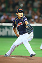 Masahiro Tanaka (JPN), .MARCH 2, 2013 - WBC : .2013 World Baseball Classic .1st Round Pool A .between Japan 5-3 Brazil .at Yafuoku Dome, Fukuoka, Japan. .(Photo by YUTAKA/AFLO SPORT)