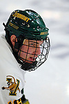 6 January 2007: University of Vermont forward Jay Anctil (16) from Wolfeboro, NH, prepares for a game against the University of New Hampshire Wildcats at Gutterson Fieldhouse in Burlington, Vermont. The Wildcats defeated Vermont 2-1 to sweep the two-game weekend series in front of a record setting 49th consecutive sellout at the Gut...Mandatory Photo Credit: Ed Wolfstein Photo.<br />
