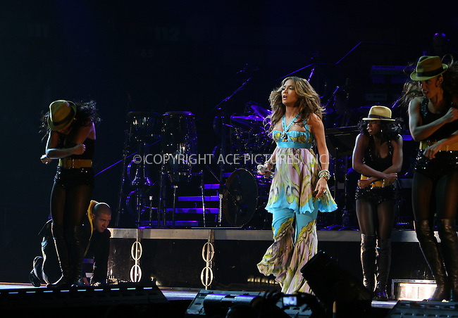 WWW.ACEPIXS.COM . . . . .  ....October 7 2007, New York City....Singer Jennifer Lopez performs at Madison Square Garden as part of the 'En Concierto' tour....Please byline: NANCY RIVERA- ACE PICTURES.... *** ***..Ace Pictures, Inc:  ..tel: (646) 769 0430..e-mail: info@acepixs.com..web: http://www.acepixs.com