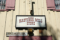 Old Hastings Mill Store heritage building in Vancouver, BC, Canada