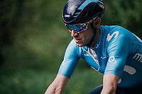 4-time Li&egrave;ge winner Alejandro Valverde (ESP/Movistar) <br /> <br /> 104th Li&egrave;ge - Bastogne - Li&egrave;ge 2018 (1.UWT)<br /> 1 Day Race: Li&egrave;ge - Ans (258km)
