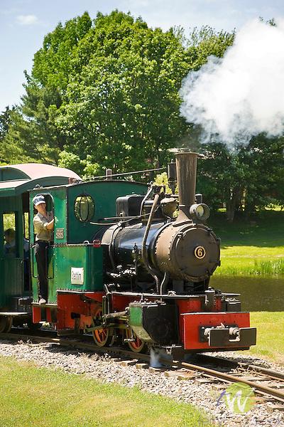 Boothbay Railway Village. Train tour