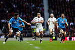 England's Jonathan Joseph makes a break for his 1st try - RBS 6 Nations - England vs Italy - Twickenham Stadium - London - 14/02/2015 - Pic Charlie Forgham-Bailey/Sportimage