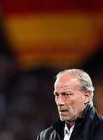 Calcio, Serie A: Roma-Genoa. Roma, stadio Olimpico, 19 marzo 2012..Football, Italian serie A: AS Roma vs Genoa. Rome, Olympic stadium, 19 march 2012..AS Roma sporting director Walter Sabatini looks on before the match..UPDATE IMAGES PRESS/Riccardo De Luca
