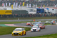 2019 British Touring Car Championship. Race 2. #3 Tom Chilton. Team Shredded Wheat Racing with Gallagher. Ford Focus RS & #24 Jake Hill. TradePriceCars.com. Audi S3.