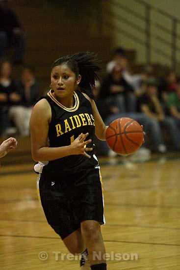 Whitehorse vs. Green River girls high school basketball. Green River wins. 12.21.2005<br />