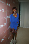 Estelle attends Moët & Chandon and Kelly Rowland debut the Rosé Lounge with an exclusive celebration for Kelly Rowland's new album Here I Am at The Standard Hotel, NY 7/26/11