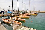Sailboats At Jaffa Port
