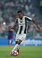 Calcio, Serie A: Juventus vs Fiorentina. Torino, Juventus Stadium, 20 agosto 2016.<br /> Juventus' Alex Sandro in action during the Italian Serie A football match between Juventus and Fiorentina at Turin's Juventus Stadium, 20 August 2016. Juventus won 2-1.<br /> UPDATE IMAGES PRESS/Isabella Bonotto