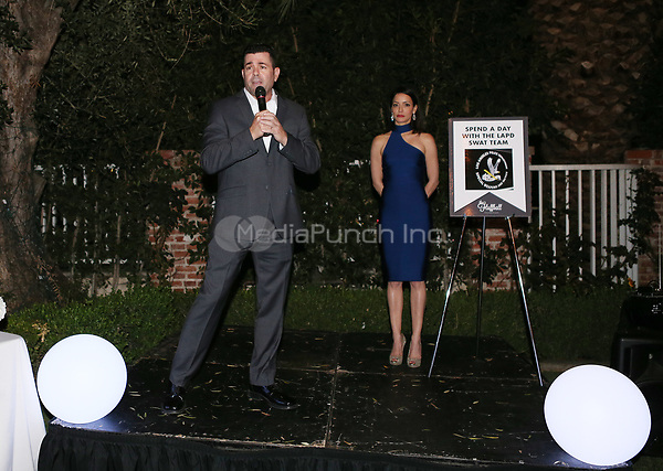 LOS ANGELES, CA - NOVEMBER 4: Michael Porter, at The 2017 Fluffball Benefiting Forgotten Horses Rescue! at The Lombardi House In Los Angeles, California on November 4, 2017. Credit: Faye Sadou/MediaPunch