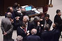 Roma, 31 Gennaio 2015<br /> Denis Verdini.<br /> Camera dei Deputati.<br /> Alla quarta votazione viene eletto Sergio Mattarella a Presidente della Repubblica.