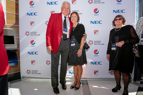 DENTON, TX - OCTOBER 20: Opening of the Soccer Hall of Fame at Toyota Stadium in Frisco on October 20, 2018 in Frisco, Texas