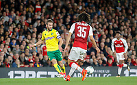 Ivo Pinto of Norwich City during the Carabao Cup match between Arsenal and Norwich City at the Emirates Stadium, London, England on 24 October 2017. Photo by Carlton Myrie.