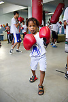 """LAUREUS WORLD SPORTS AWARDS 2013, RIO DE JANEIRO, BRAZIL..VISIT TO LUTA PELA PAZ, """"FIGHT FOR PEACE"""" IN THE COMPLEXO DA MARE, A FAVELA DIVIDED BY DRUG GANGS..THE PROJECT, FOUNDED IN 2000 BY LUKE DOWDNEY, A BRITISH AMATEUR BOXER, PROVIDES TRAINING AND EDUCATION..9-3-2013 PIC BY IAN MCILGORM"""