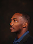 SANTA MONICA, CA - May 9:  Actor Anthony Mackie, who portrays Martin Luther King Jr. in HBO's upcoming film All The Way which chronicles Lyndon B. Johnson as he assumes the office of the U.S. Presidency after the John F. Kennedy assassination. (Photo by Brinson+Banks)