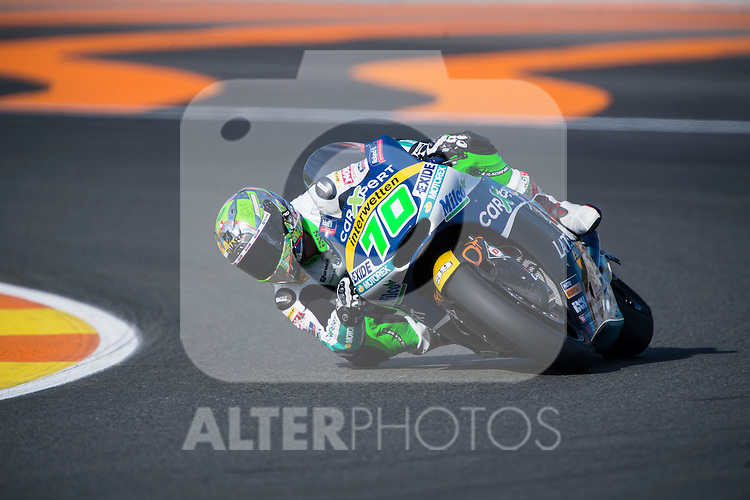 VALENCIA, SPAIN - NOVEMBER 11: Robin Mulhauser during Valencia MotoGP 2016 at Ricardo Tormo Circuit on November 11, 2016 in Valencia, Spain