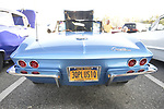 Bellmore, New York, USA. August 24, 2018. Hundreds of classic and custom cars are on display at Bellmore Friday Night Car Show, in parking lot of LIRR Bellmore station. This traditional Long Island event is hosted by the Chamber of Commerce of the Bellmores.