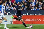 Alvaro Morata of Real Madrid during the match of  La Liga between Club Deportivo Leganes and Real Madrid at Butarque Stadium  in Leganes, Spain. April 05, 2017. (ALTERPHOTOS / Rodrigo Jimenez)