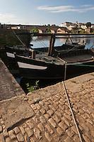 Europe/France/Aquitaine/24/Dordogne/Bergerac: L'ancien port sur la Dordogne et ses Gabarres
