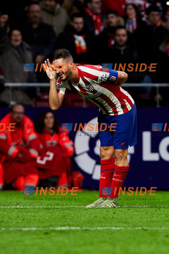 Jorge Resurreccion 'Koke' of Atletico de Madrid during La Liga match between Atletico de Madrid and RCD Espanyol at Wanda Metropolitano Stadium in Madrid, Spain. November 10, 2019. (ALTERPHOTOS/A. Perez Meca)<br /> Liga Spagna 2019/2020 <br /> Atletico Madrid - Espanyol <br /> Photo Alterphotos / Insidefoto <br /> ITALY ONLY