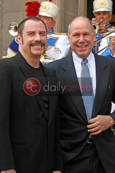 John Travolta and Michael D. Eisner<br />at the ceremony honoring Michael D. Eisner with the 2,361st Star on the Hollywood Walk of Fame. Hollywood Boulevard, Hollywood, CA. 04-25-08<br />Dave Edwards/DailyCeleb.com 818-249-4998