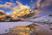 Tom Mackie, LANDSCAPES, LANDSCHAFTEN, PAISAJES, photos,+Dolomites, Dolomiti, EU, Europa, Europe, European, Italia, Italian, Italy, Pale di San Martino, Passo Rolle, South Tyrol, Tom+Mackie, Trentino, chalet, dramatic outdoors, frozen, horizontal, horizontals, ice, lake, landscape, landscapes, low cloud, m+irror image, mountain, mountainous, mountains, reflect, reflected, reflecting, reflection, reflections, rugged, scenery, scen+ic, snow, water, water's edge, weather, yellow,Dolomites, Dolomiti, EU, Europa, Europe, European, Italia, Italian, Italy, Pal+,GBTM160420-1,#l#