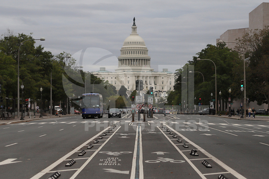 WASHINGTON DC, EUA, 08.10.2019 - POLITICA-WASHINGTON DC - Capitolio, sede do Legislativo Americano, na cidade de Washington DC, capital dos Estados Unidos, nesta terça-feira, 8. (Foto Charles Sholl/Brazil Photo Press/Folhapress)