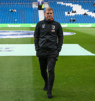 Bournemouth manager Eddie Howe  <br /> <br /> Photographer David Horton/CameraSport<br /> <br /> The Premier League - Brighton and Hove Albion v Bournemouth - Saturday 13th April 2019 - The Amex Stadium - Brighton<br /> <br /> World Copyright © 2019 CameraSport. All rights reserved. 43 Linden Ave. Countesthorpe. Leicester. England. LE8 5PG - Tel: +44 (0) 116 277 4147 - admin@camerasport.com - www.camerasport.com