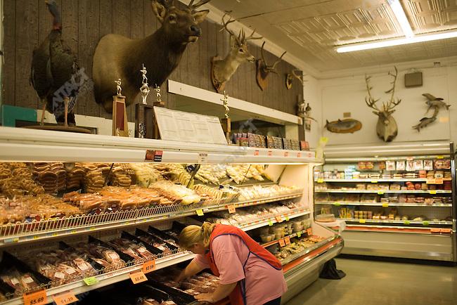 Jim's Food Center, located in Randolph, Nebraska. Randolph, Nebraska, September 14, 2007.
