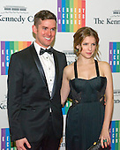 Anna Kendrick and Alexander Martinetti arrive for the formal Artist's Dinner honoring the recipients of the 2013 Kennedy Center Honors hosted by United States Secretary of State John F. Kerry at the U.S. Department of State in Washington, D.C. on Saturday, December 7, 2013. The 2013 honorees are: opera singer Martina Arroyo; pianist,  keyboardist, bandleader and composer Herbie Hancock; pianist, singer and songwriter Billy Joel; actress Shirley MacLaine; and musician and songwriter Carlos Santana.<br /> Credit: Ron Sachs / CNP