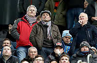 Burnley fans soak-up the pre-match atmosphere at the Etihad stadium<br /> <br /> Photographer Rich Linley/CameraSport<br /> <br /> Emirates FA Cup Fourth Round - Manchester City v Burnley - Saturday 26th January 2019 - The Etihad - Manchester<br />  <br /> World Copyright © 2019 CameraSport. All rights reserved. 43 Linden Ave. Countesthorpe. Leicester. England. LE8 5PG - Tel: +44 (0) 116 277 4147 - admin@camerasport.com - www.camerasport.com