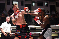 Danny Couzens (black shorts) defeats Ossie Jervier during a Boxing Show at York Hall on 10th June 2017