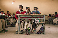 Whether through River Blindness, Vitamin A deficiency, cataracts or trachoma, there are an estimated 1,250,000 blind people in Ethiopia, with a further 2 million suffering from low vision. Over 90 visually impaired children call the Mek'ele Blind School home. However, both in the northern Tigray region and throughout the country, many children either do not know about the school, or are unable to pay their way through the gates. Although it is sorely lacking in every way possible, children that are brought to the school, or in some cases abandoned here, have a better chance of a future than those who don't find their way here.