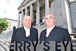 Chief Justice John Murray and Mr Justice Richard Johnson (President of the High Court)   Copyright Kerry's Eye 2008