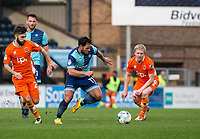 Sam Wood of Wycombe Wanderers during the Sky Bet League 2 match between Wycombe Wanderers and Blackpool at Adams Park, High Wycombe, England on the 11th March 2017. Photo by Liam McAvoy.