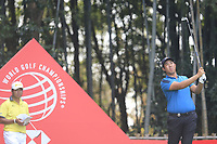 Byeong Hun An (KOR) on the 17th tee during the final round of the WGC HSBC Champions, Sheshan Golf Club, Shanghai, China. 03/11/2019.<br /> Picture Fran Caffrey / Golffile.ie<br /> <br /> All photo usage must carry mandatory copyright credit (© Golffile | Fran Caffrey)