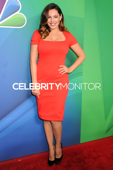 NEW YORK CITY, NY, USA - MAY 12: Kelly Brook at the 2014 NBC Upfront Presentation held at the Jacob K. Javits Convention Center on May 12, 2014 in New York City, New York, United States. (Photo by Celebrity Monitor)