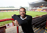 Lionel Ainsworth after signing a new deal with Motherwell