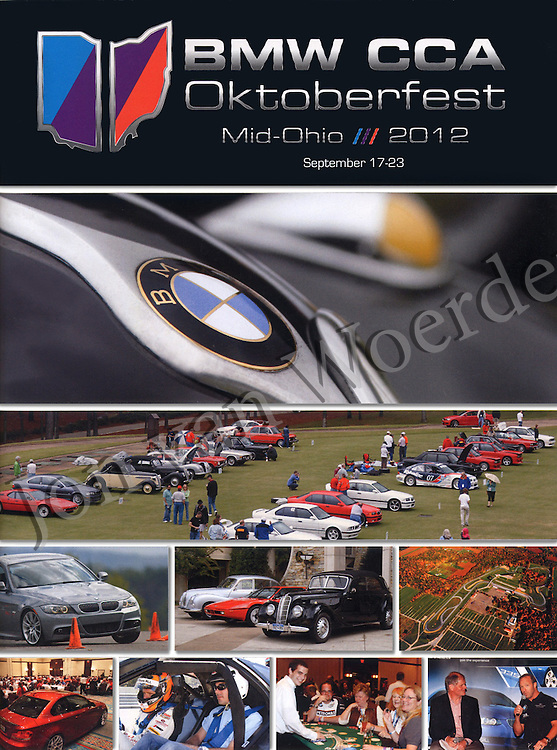 BMW CCA Oktoberfest 2012 Program